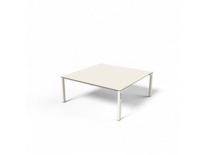 lbs625 Zahradní konferenční stolek Bistrot s HPL deskou