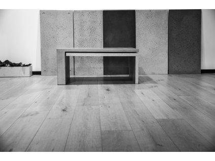 Konferenční stolek Lignium beton+dřevo