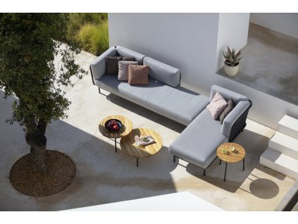 Zahradní sedačka Baza - sestava H