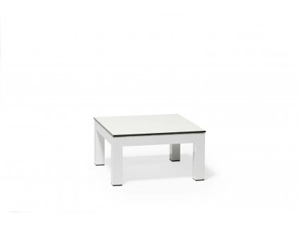 Side table white alu