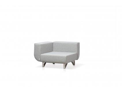 Modulární sedačka Lotos l rohový díl