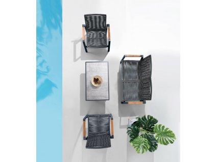Zahradní 4místná sedací souprava Nofi 3.0
