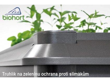 Biohort Nepřekonatelná ochrana proti hlemýžďům 1 x 0,5 šedý křemen metalíza