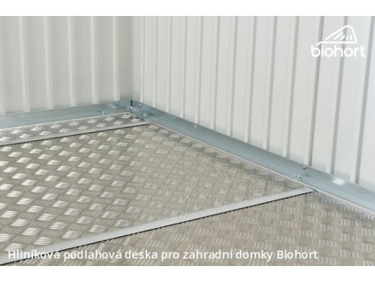 Biohort Hliníková podlahová deska pro HIGHLINE® H4, AVANTGARDE A7 a PANORAMA P4