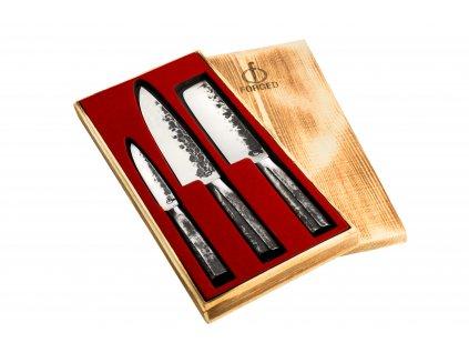 3-dílná sada nožů Intense Forged