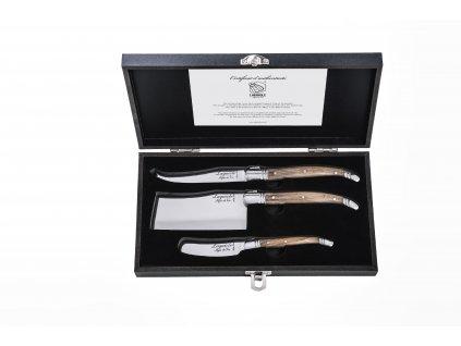 Sada nožů na sýr Laguiole Luxury