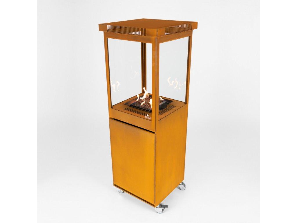 Terasový ohřívač Sunwood Marino oranžový