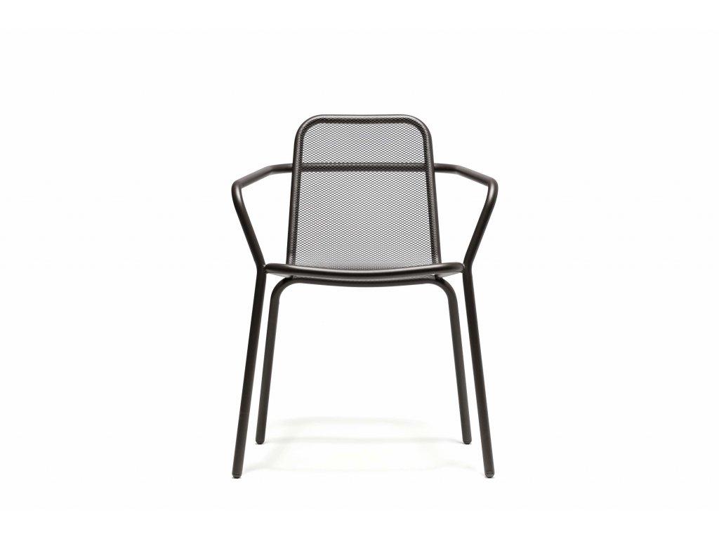 Venkovní jídelní židle s područkami Starling