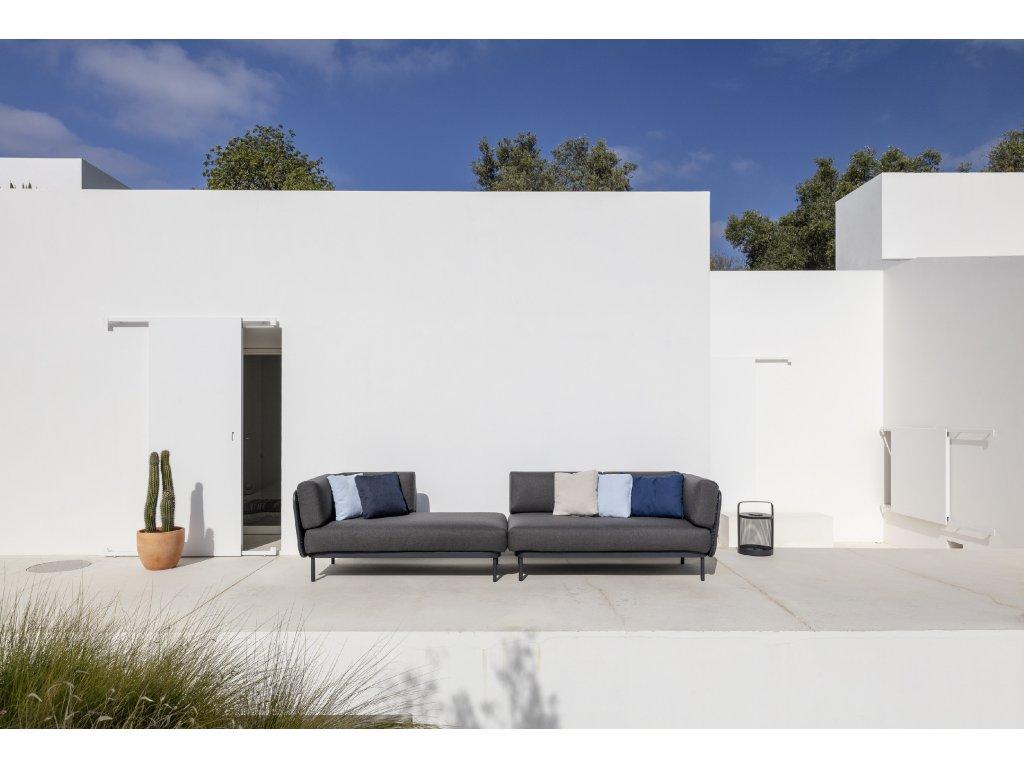 Zahradní sedačka Baza - sestava F2