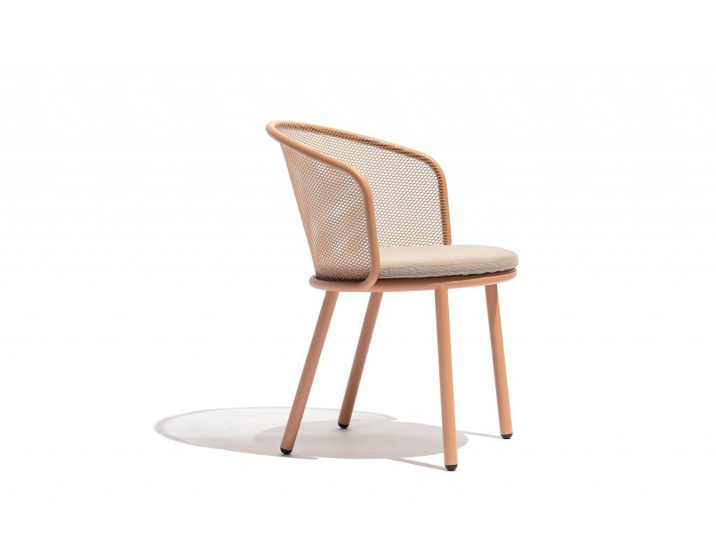Záhradná jedálenská stolička Baza