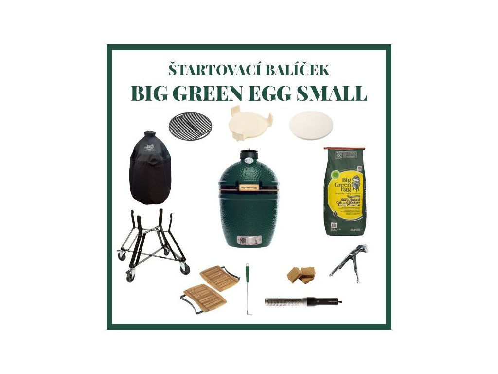 big green egg small zostava