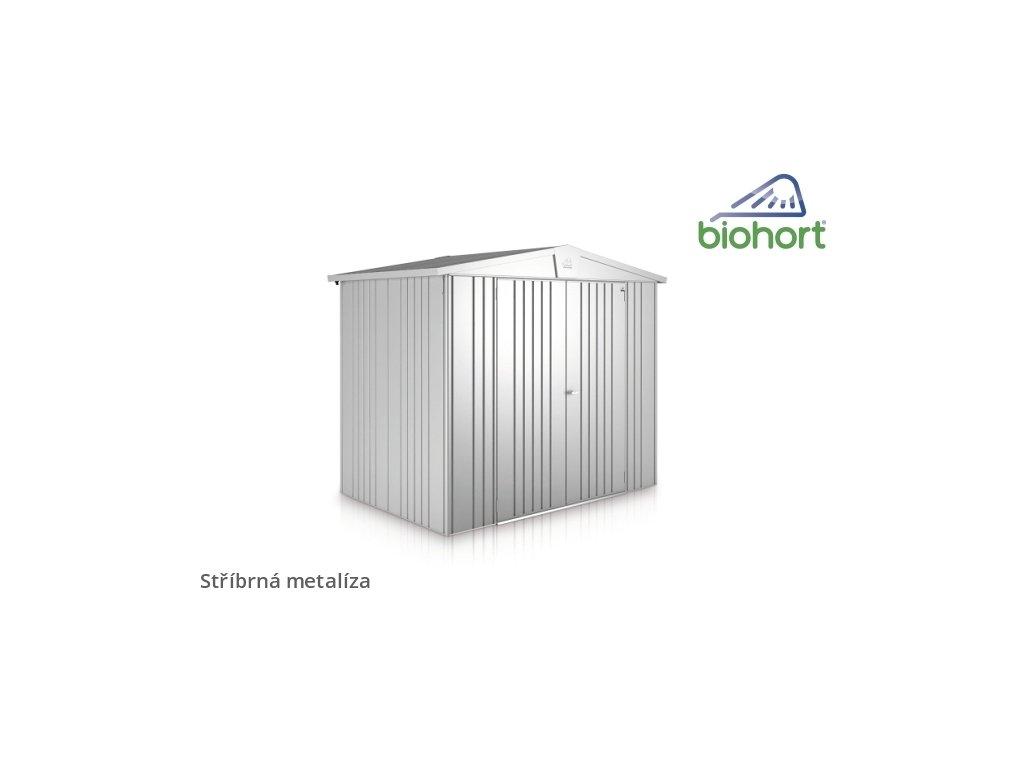 Biohort Zahradní domek EUROPA 4, stříbrná metalíza