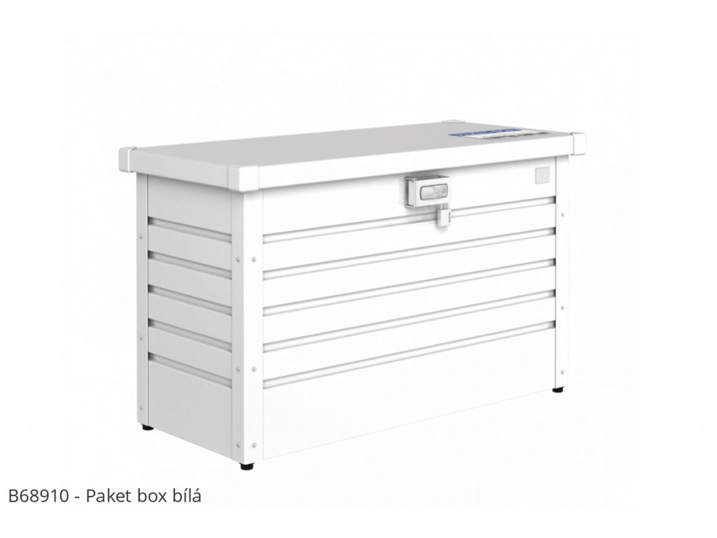 Biohort Box na balíky Paket-Box bílá