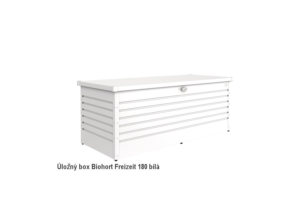 Biohort Úložný box FreizeitBox 180, bílá