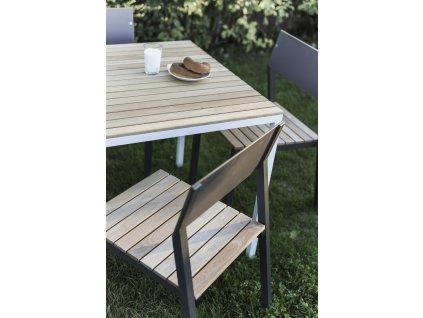 Zahradní jídelní stůl Cora velký (Dřevo akát)