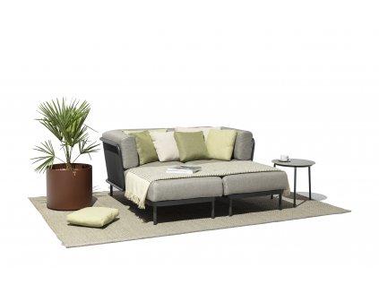 Zahradní sedačka Baza - sestava D