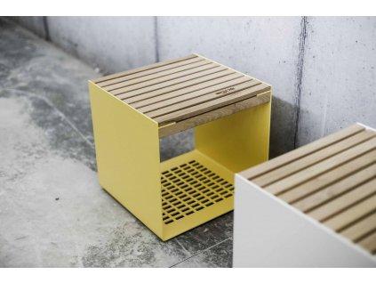 Zahradní stolička Radium (Dřevo akát)