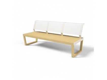 101 ba130 Zahradní třímístná lavice Barka