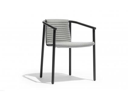 Zahradní hliníková židle Round Duct