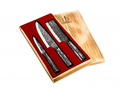 3-dílná sada nožů Brute Forged