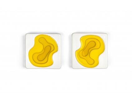 Malé keramické misky na olivový olej