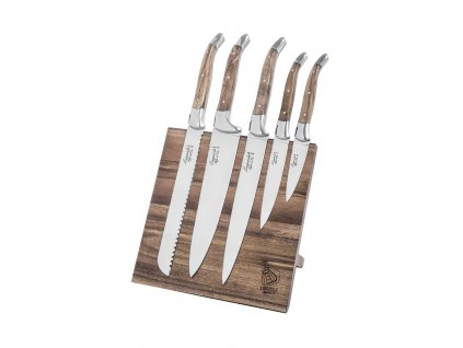 Sada kuchárskych nožov Laguiole Luxury