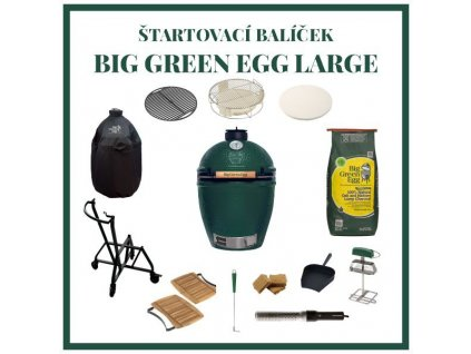 big green egg large zostava