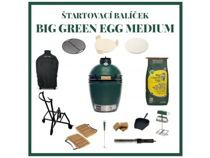 big green egg medium zostava