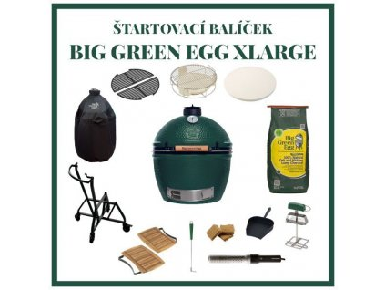 big green egg xlarge zostava