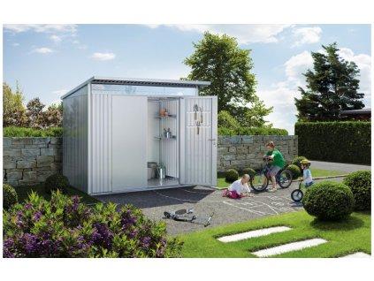 Biohort Zahradní domek AVANTGARDE A1, stříbrná metalíza