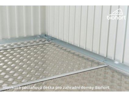 Biohort Hliníková podlahová deska pro EUROPA 1, Skříň na nářadí 150, Woodstock 150