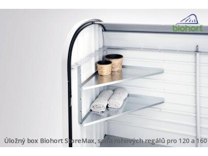Biohort Sada rohových regálů StoreMax®