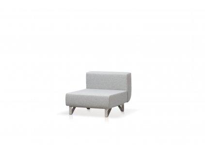 Modulární sedačka Lotos l středový díl (Látka Crevin Vita (Kat.A))