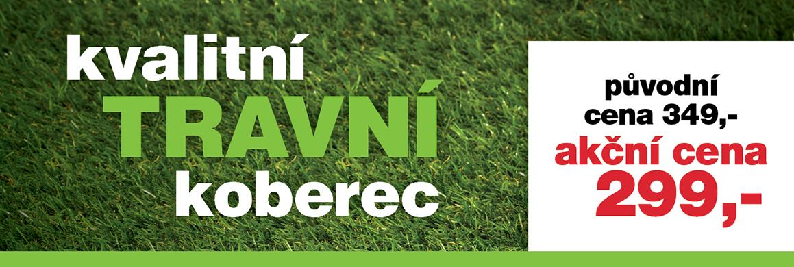 kvalitní travní koberec