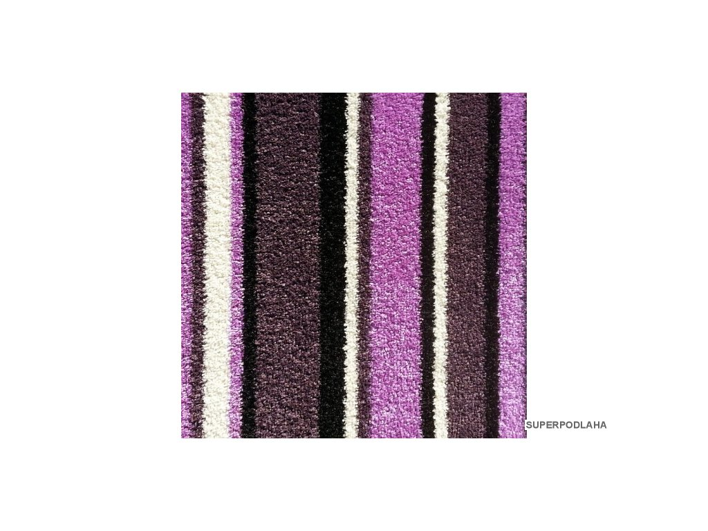 koberec full art 6380 fialovy