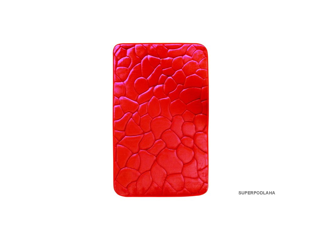 Koupelnová předložka 0133 red