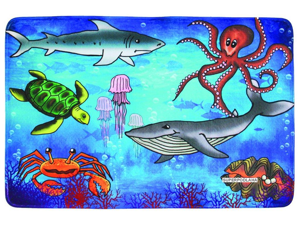 Kusový koberec Sea World