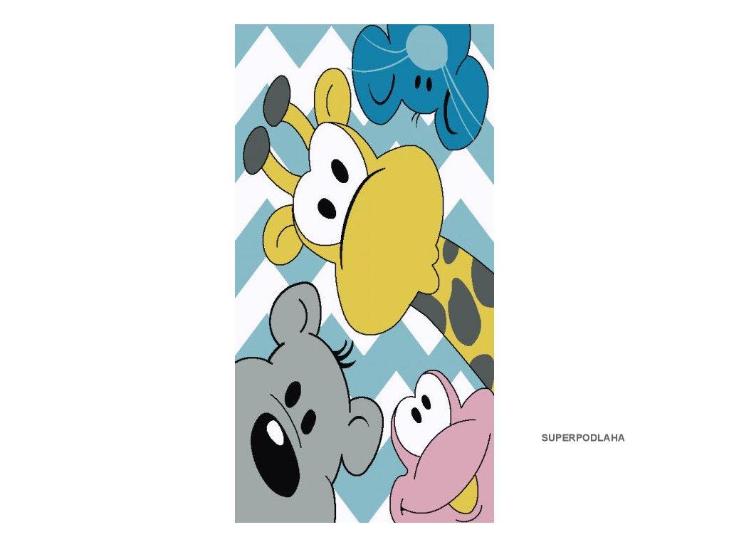 Dětský koberec Kiddo A1084 multi