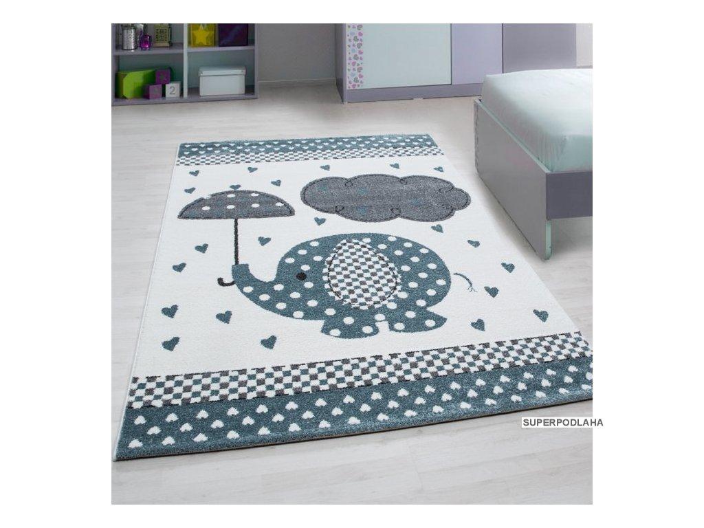 Dětský koberec Kids 570 blue