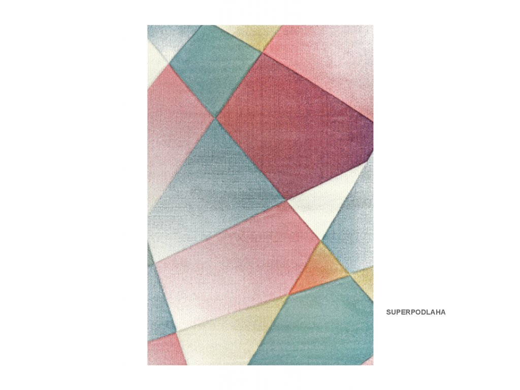 Kusový koberec Pastel/Indigo 22829/110