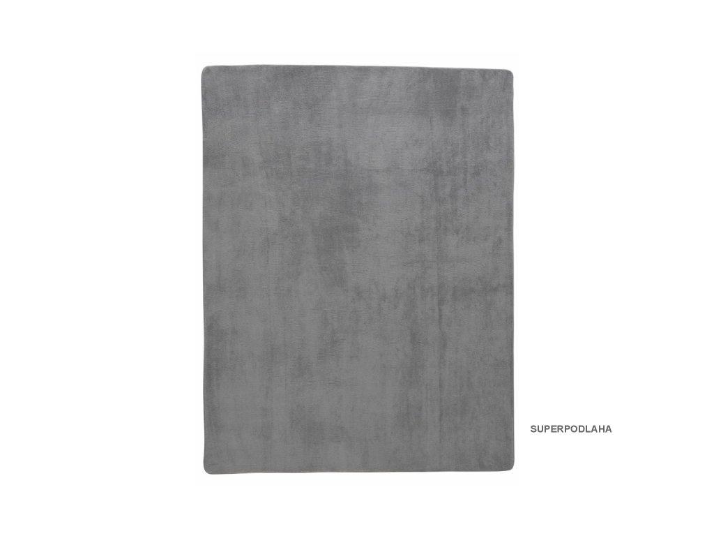 Kusový koberec DORMEO ASANA Z PAMĚŤOVÉ PĚNY - ŠEDÁ