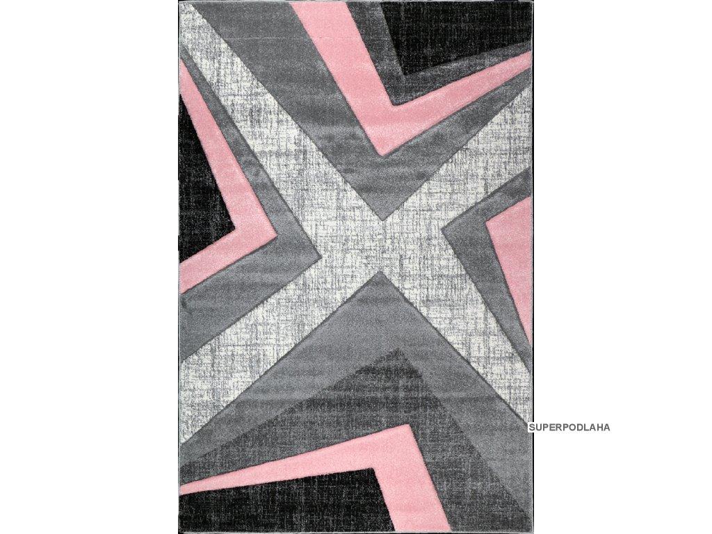 Kusový koberec Warner 1180A Pink