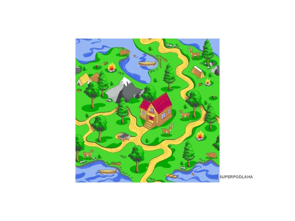 koberec aljaska 5228 zeleny