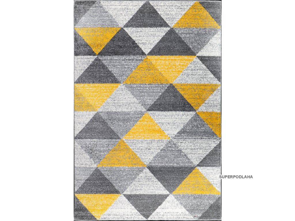 Kusový koberec Calderon 1530A žlutý