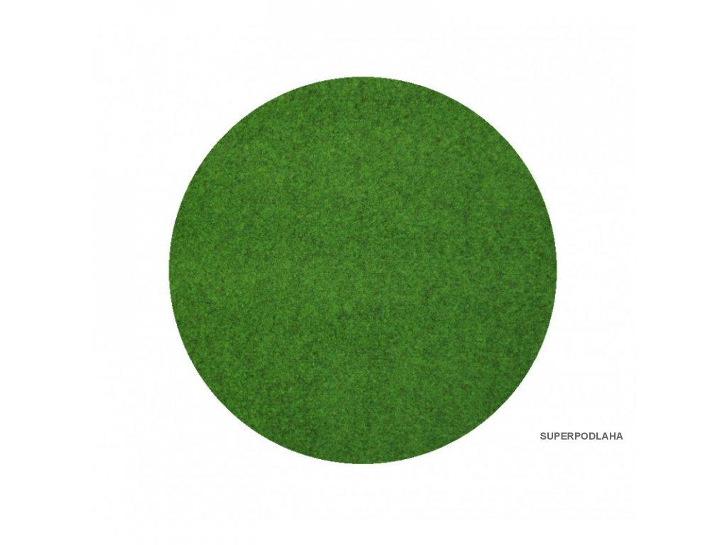 travni koberec pod bazen sporting s nopy kruh vhodny jako bazenova podlozka