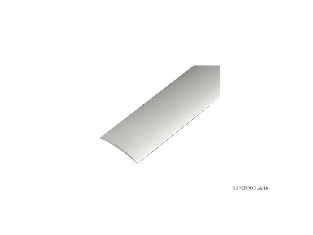 Přechodová lišta šroubovací 60 mm x 3000 mm - stříbro