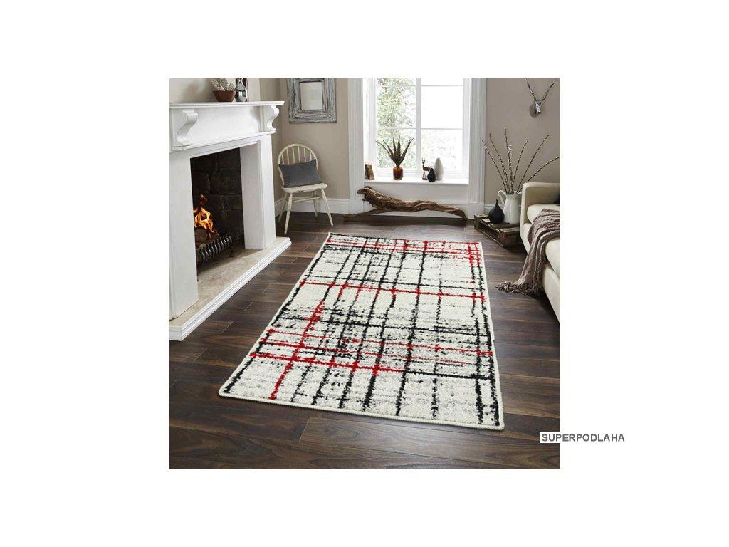 Kusový koberec Lotto 406/FM6/W