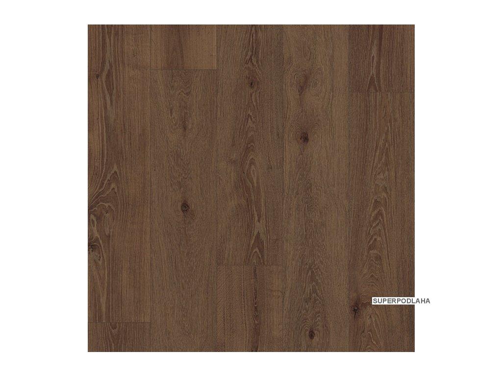 Korková plovoucí podlaha CORK COMFORT CC 004 Dub Clermont hnědý