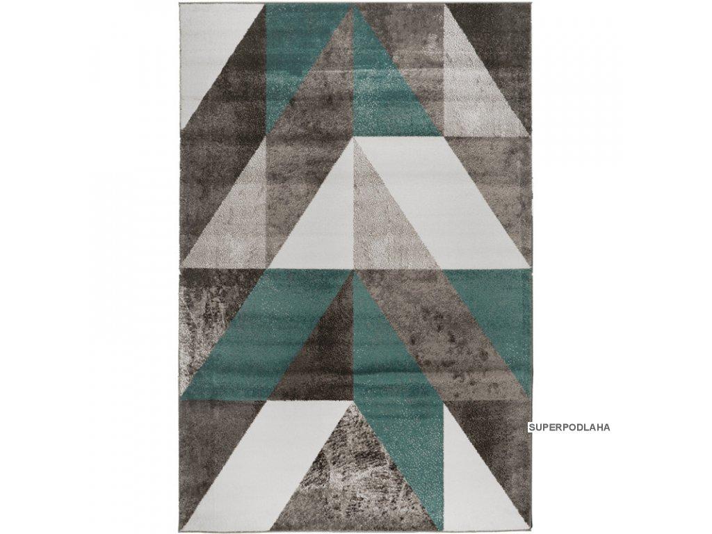 koberec calderon f2220 tyrkysovy