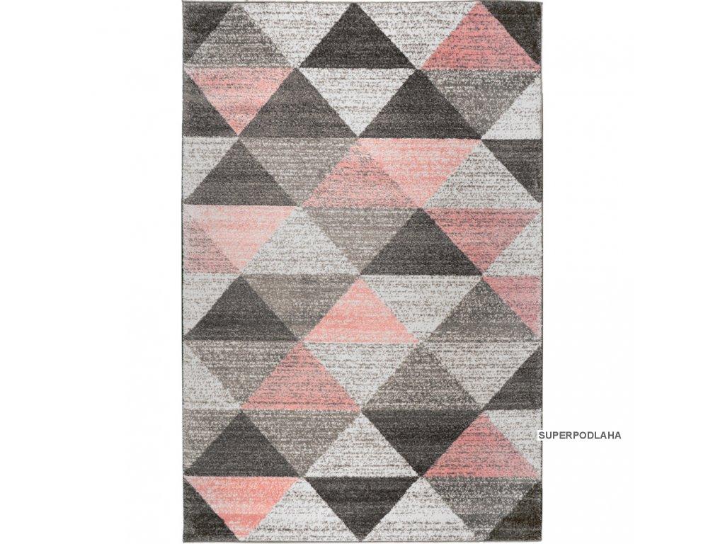 koberec calderon 1530a ruzovy
